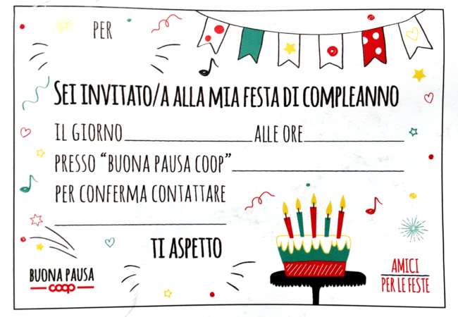 Compleanno Coop Amici